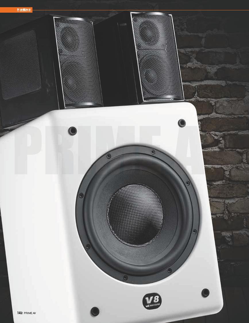 三面發聲環繞喇叭2.1系統 M&K Sound X24T Tripole 和超低音 V8