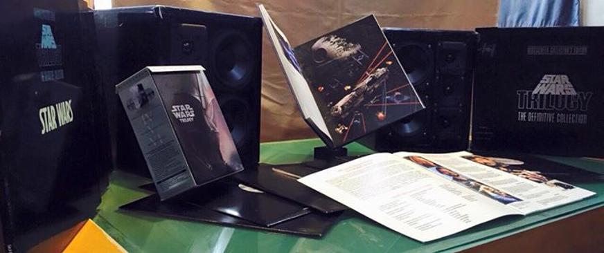 愷銳音響收藏星際大戰周DVD