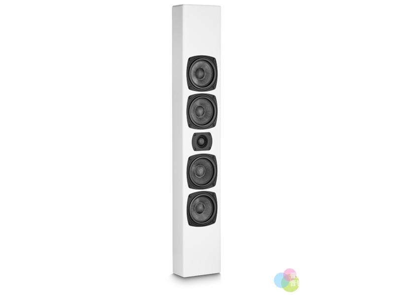 M&K Sound M90壁掛喇叭 白色正面