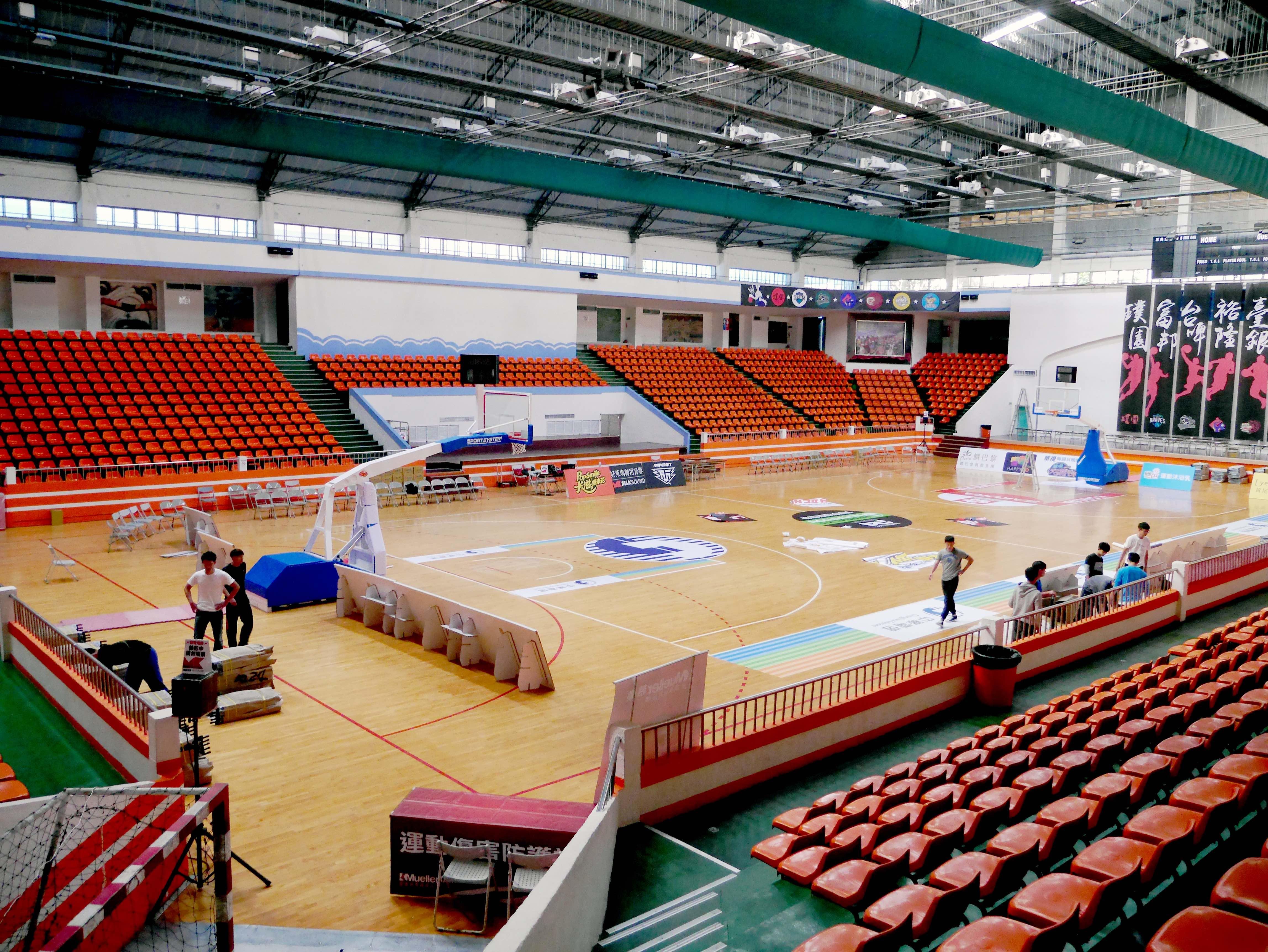 板橋體育館籃球場