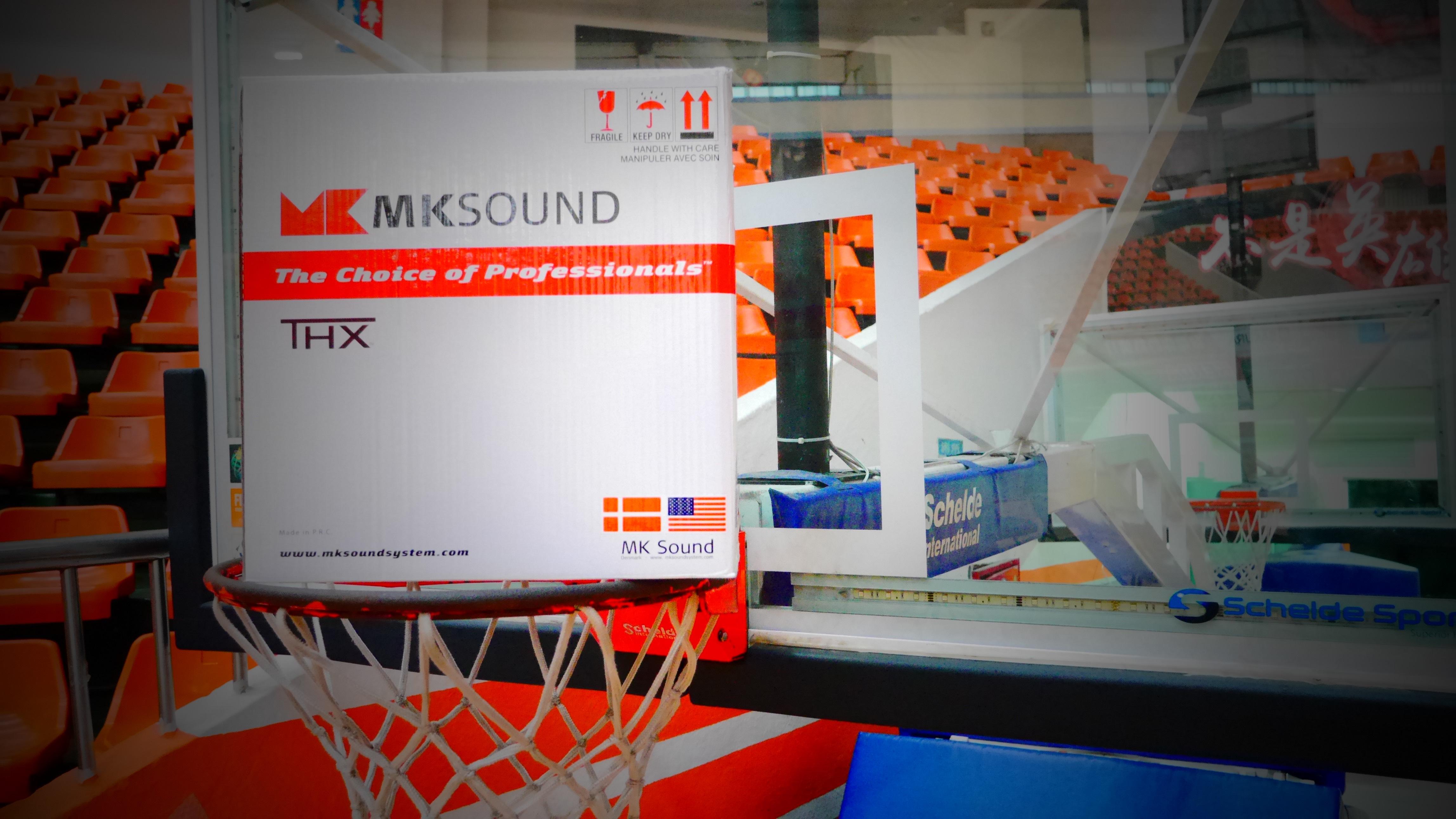 M&K SOUND與籃球的結合