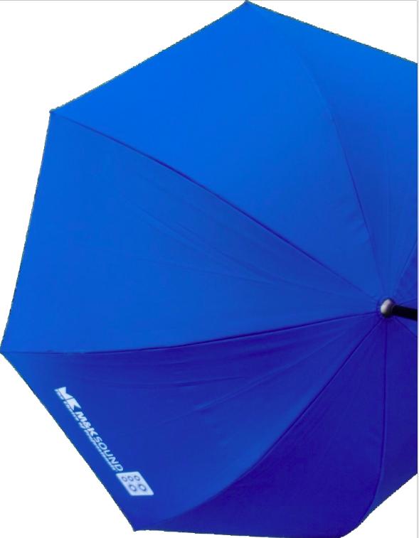 藍色的M&K尊爵傘