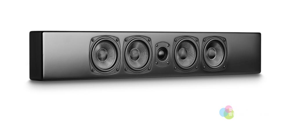 M&K Sound M90壁掛喇叭 黑色正面