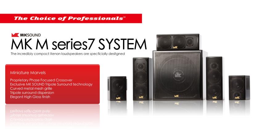 M&K Sound M7系列獲得THX認證THX Compact