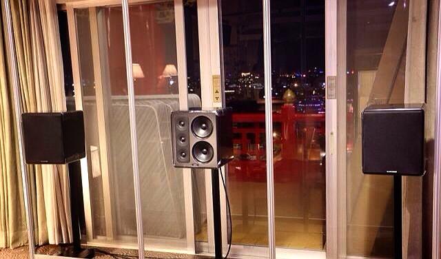 2014台北音響展愷銳展房M&K SOUND旗艦主喇叭S300展示