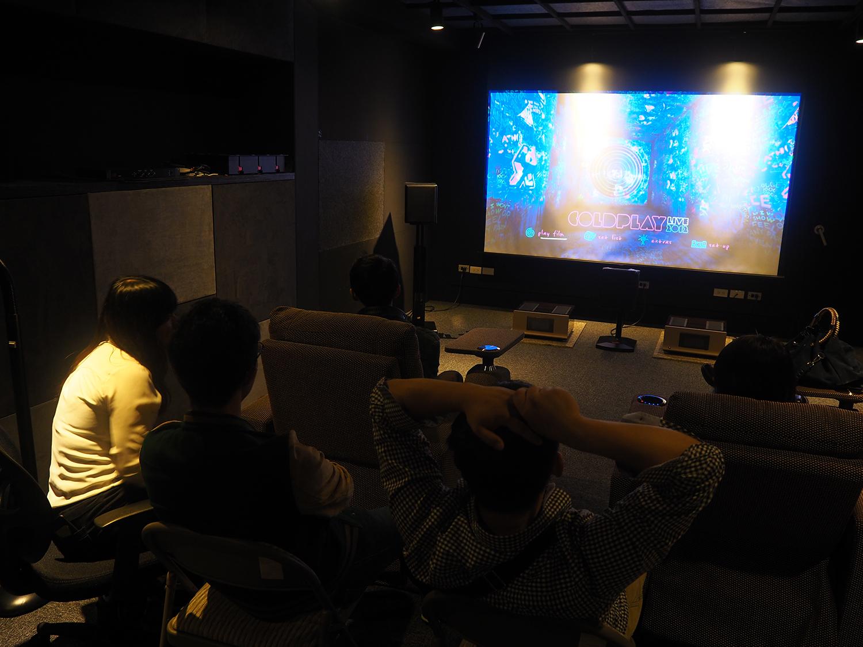 愷銳音響音樂電影夜 Coldplay x M&K劇院演唱會播放Coldplay 2012年巡迴藍光演唱會