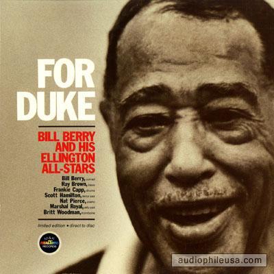 FOR DUKE BILL BERRY & HIS ELLINGTON ALL-STARS