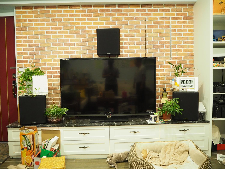 M&K SOUND S300系統打造客廳視聽空間
