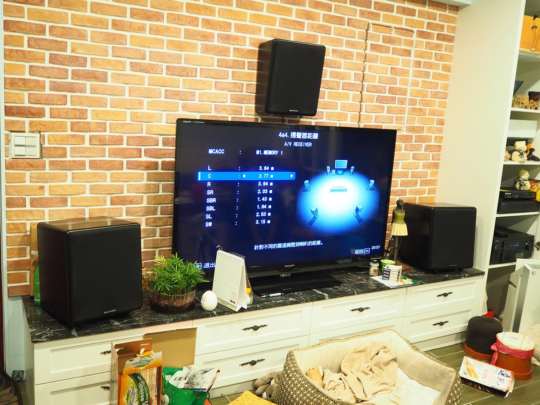 M&K SOUND S300系統客廳視聽空間聲音調整