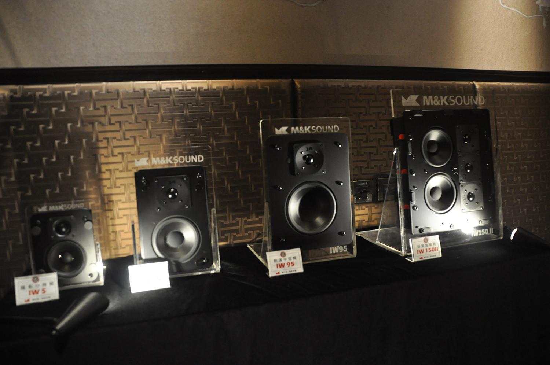 M&K SOUND 崁入式音響 IW series