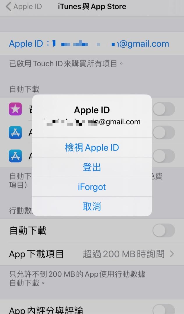 登入海外 Apple ID