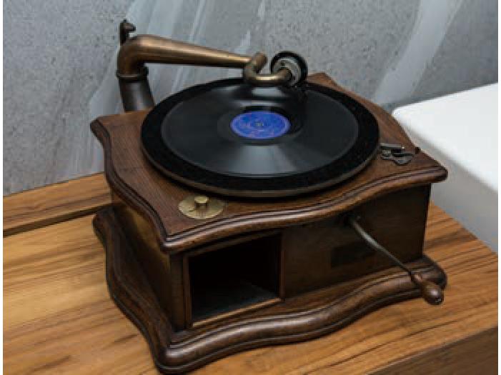 手搖式黑膠唱盤