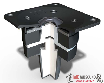 M&K SOUND MPS-1611P 主動式喇叭單體後導管