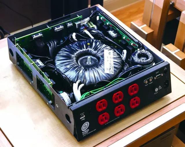 TORUS POWER電源處理器中的環型隔離變壓器