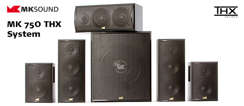 全球率先奪下 THX Select 認證喇叭M&K SOUNDLCR-750