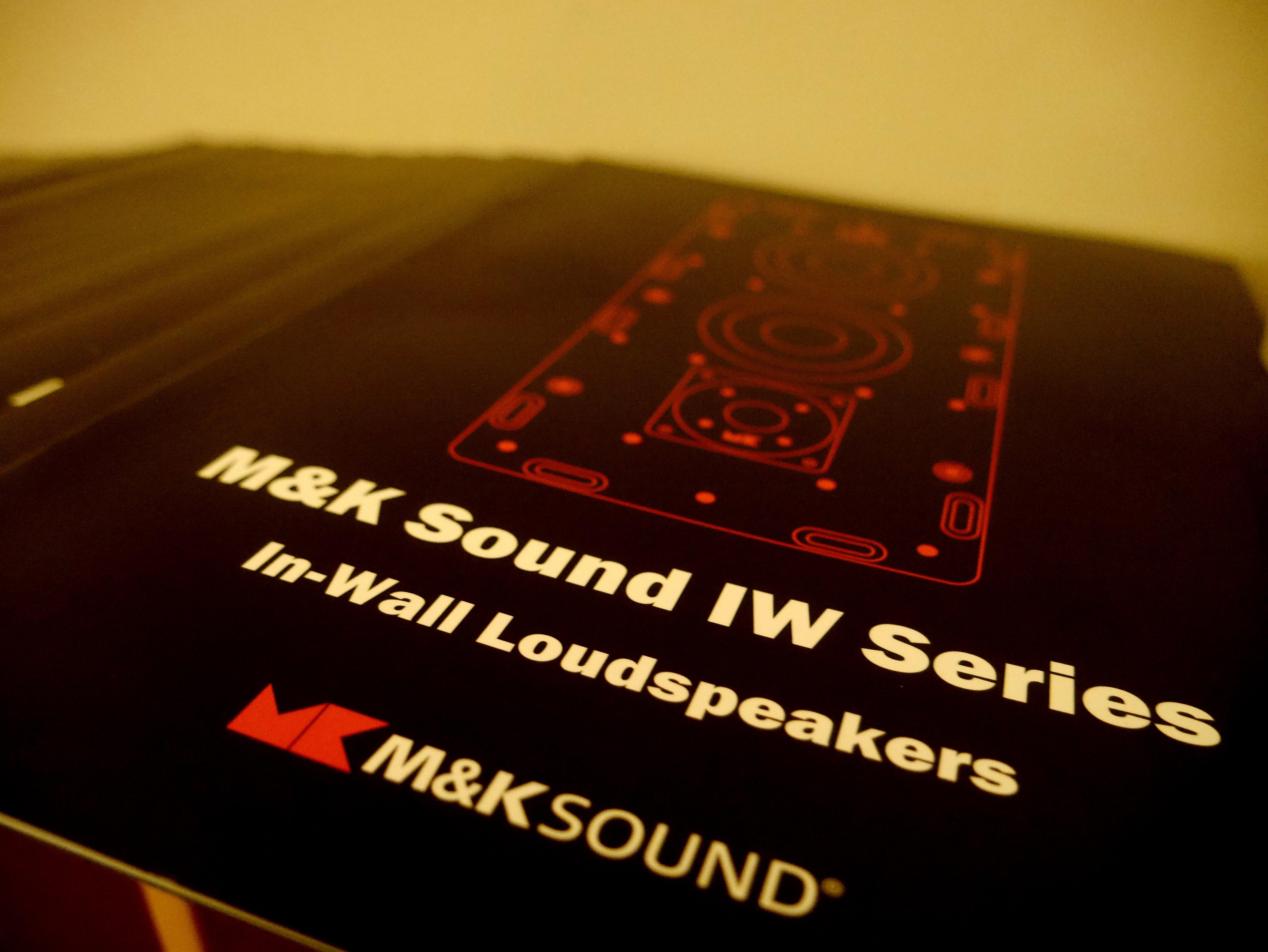 M&K SOUND崁入式喇叭DM