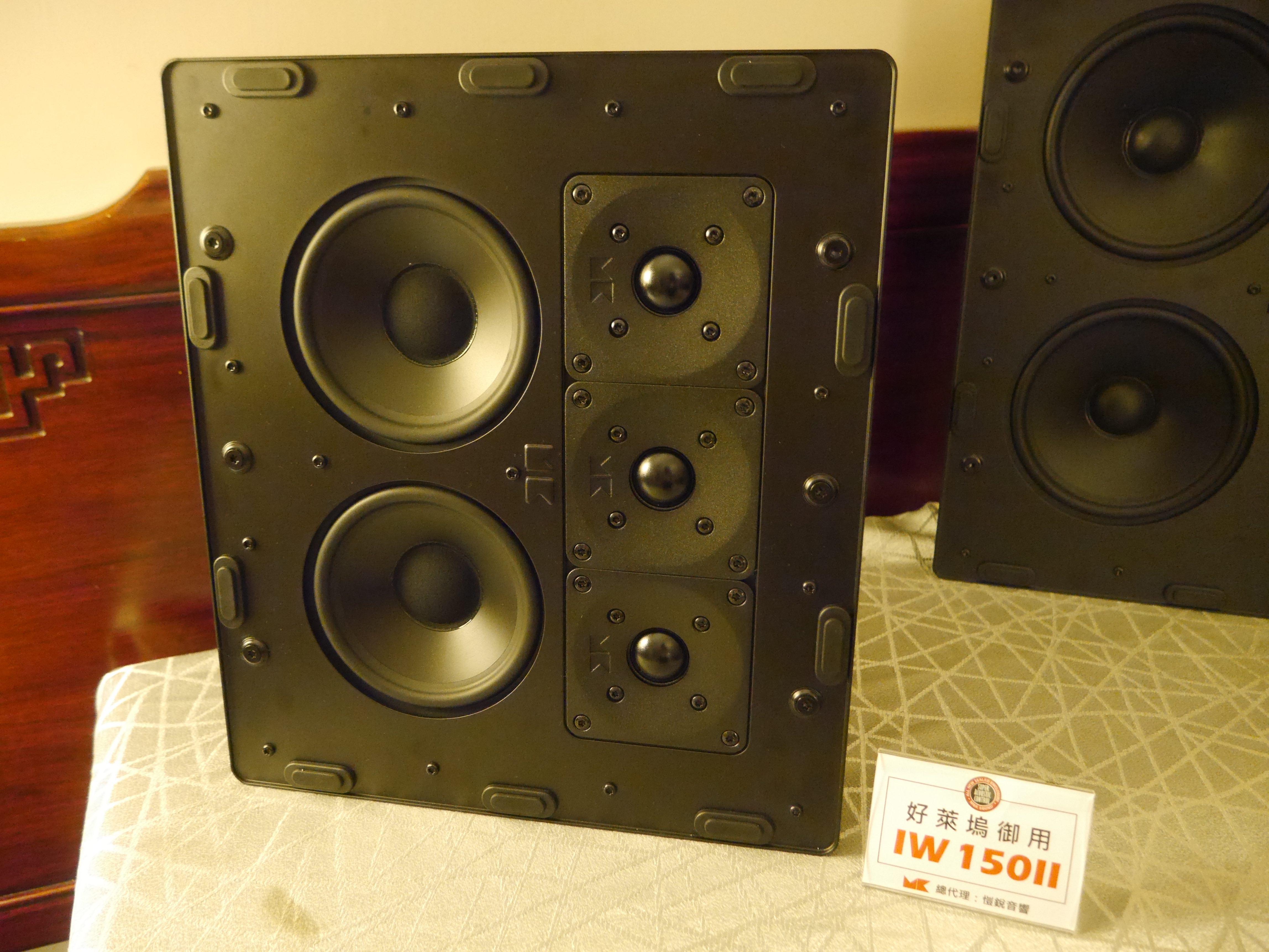 M&K SOUND好萊塢御用-IW150的陣列式設計