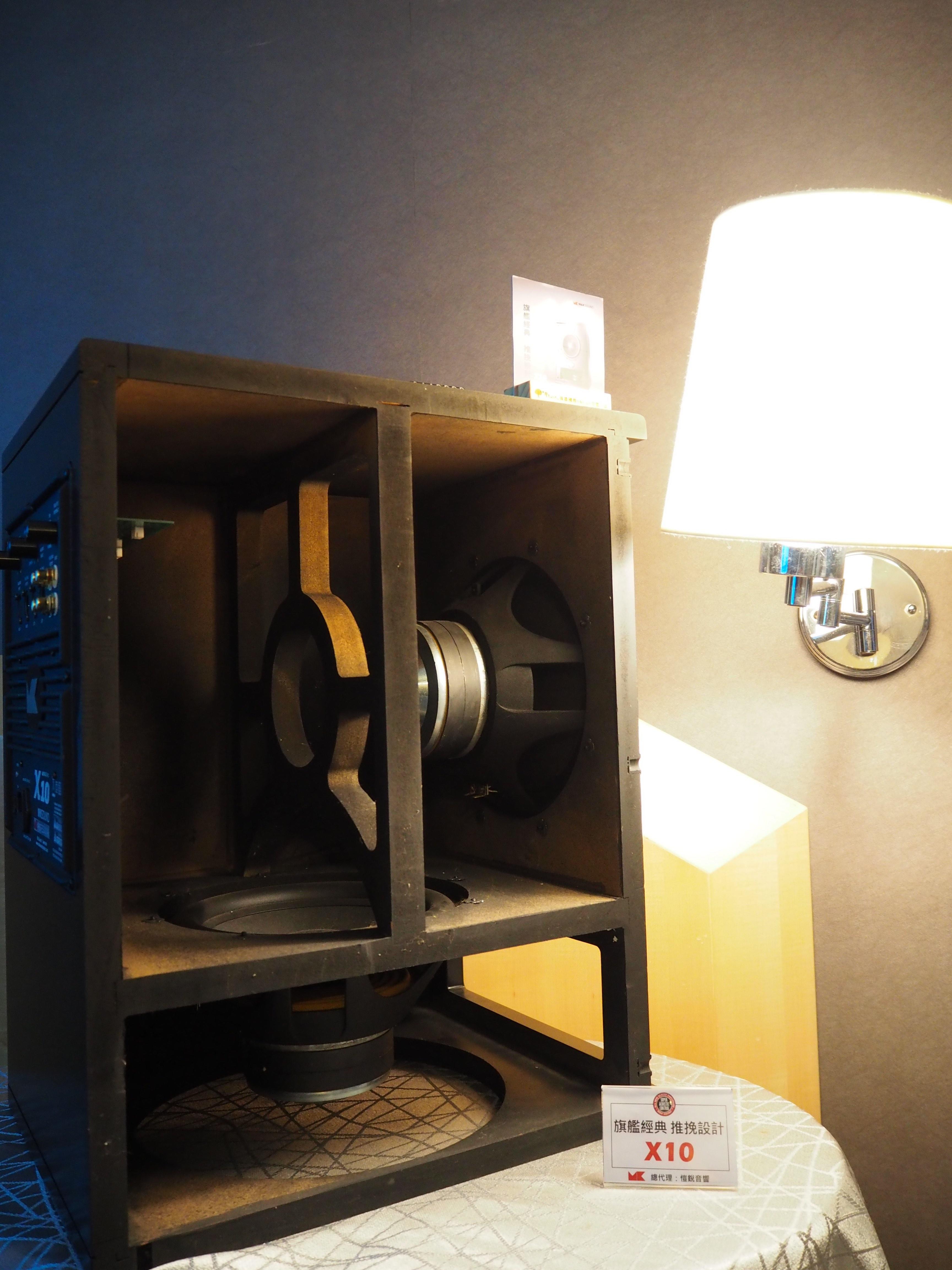 愷銳音響M&K SOUND 雙單體推挽設計X10